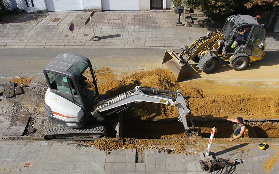 canalisation egout Clermont